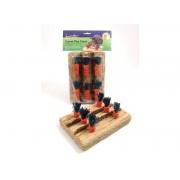 Carrot Play Patch - Porgandipõld söödav mänguasi närilisele