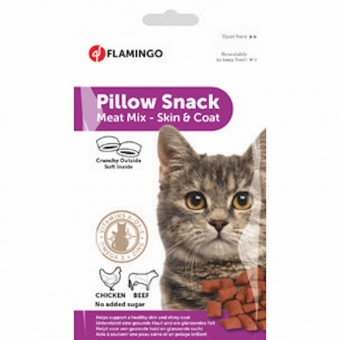 CAT SNACK PILLOW SKIN AND FUR 50g
