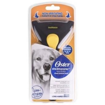 Shedmonster aluskarvapügaja pikakarvalisele koerale