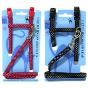 Cat Spotty Harness and Lead Set- Kassi traksid ja jalutusrihm