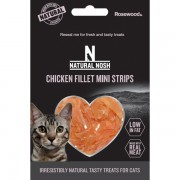 Natural Nosh Chicken Fillet Mini Strips 50g