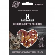 Natural Nosh Chicken & Cheese Duo Bites 50g