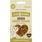 Leaps&Pounds Crunchy Chicken Cushions 60g- maius kassidele