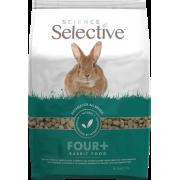 Science Selective 4+ vanuste küülikute täistoit 3kg
