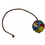 Gappay täiskummist pall 7cm, nööriga